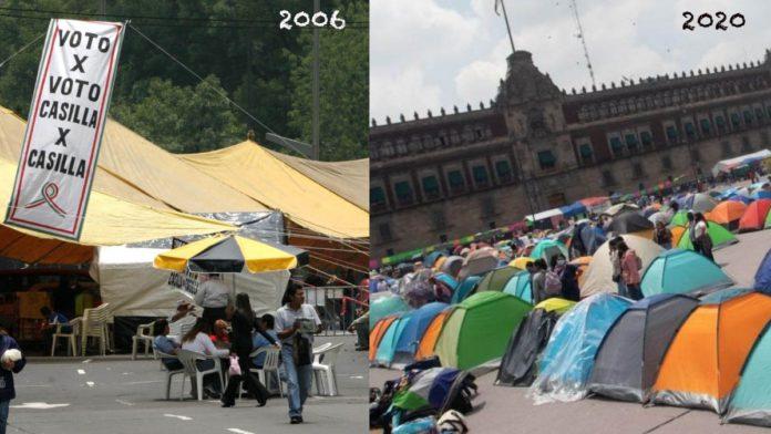 Bloqueo de AMLO de 2006 Vs. Bloqueo de FRENA, ¿cuáles son las diferencias?