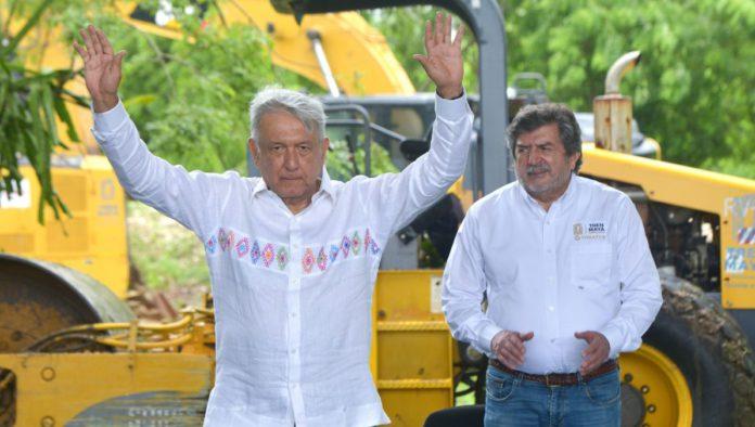 Gobierno pide 57 mil millones de pesos para Santa Lucía y el Tren Maya en 2021