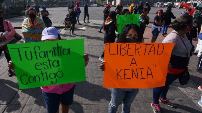 Kenia Hernández activista prisión