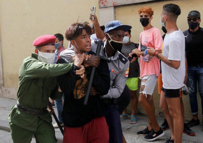 Cuba protestas
